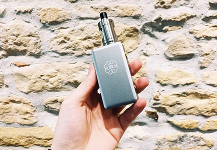Review clearomiseur Zenith inhalation indirecte - Innokin
